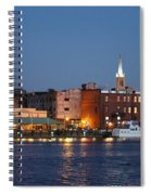 Wilmington At Night Spiral Notebook