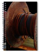 Winch - Cable - Crank - Boats Spiral Notebook