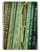 Winchester Catalogs Spiral Notebook
