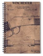 Winchester Rifle Patent Spiral Notebook