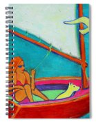 Wind Beneath My Wings I Spiral Notebook