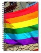 Wind Blown Pride Spiral Notebook