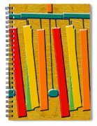 Wind Chimes Spiral Notebook