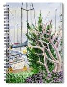 Wind Drifter  Spiral Notebook