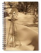 Wind Mill Spiral Notebook