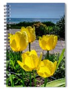 Wind Point Tulips Spiral Notebook