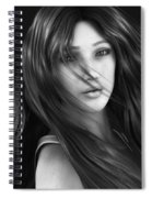 Wind Smells Of Freedom Spiral Notebook