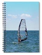 Wind Surfer Spiral Notebook