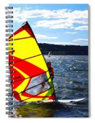 Wind Surfer II Spiral Notebook