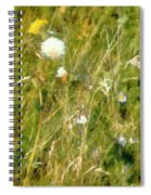 Wind Through The Meadow Spiral Notebook