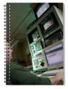 Wind Tunnel Control Room Spiral Notebook