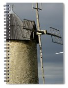 Wind Turbines And Windfarm Spiral Notebook