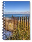 Wind Whipped Spiral Notebook