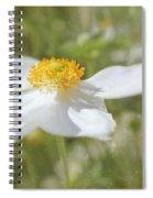 Windflower Spiral Notebook