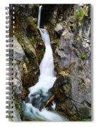 Winding Down The Cliffs Spiral Notebook