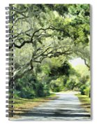 Winding Path Spiral Notebook