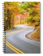 Winding Road Spiral Notebook