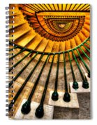 Winding Up Spiral Notebook