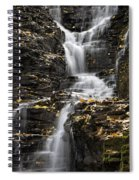 Winding Waterfall Spiral Notebook