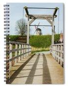 Windmill Bridge Spiral Notebook