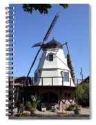 Windmill In Solvang Spiral Notebook