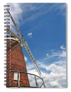 Windmill In The Sky Spiral Notebook
