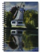 Windmill In The Willows Spiral Notebook