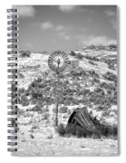 Windmill On A Hill Spiral Notebook