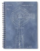 Windmill Patent Spiral Notebook
