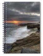 Windnsea Fence Spiral Notebook