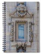 Window Across The Street Spiral Notebook