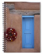 Window And Ristra Spiral Notebook