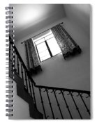 Window And Stairs Spiral Notebook