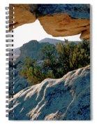 Window Arch City Of Rocks Idaho Spiral Notebook