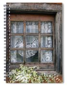 Window At Old Santa Fe Spiral Notebook