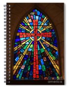 Window At The Little Church In La Villita Spiral Notebook