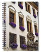 Window Boxes In Germany Spiral Notebook