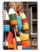 Rockport Buoy View Spiral Notebook