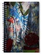 Window Butterflies Spiral Notebook