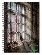 Window Decay Spiral Notebook