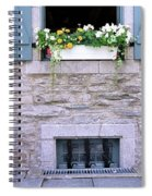 Window Flower Box 2 Spiral Notebook