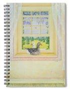Window Geese Spiral Notebook