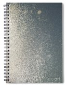 Window Ice-5053 Spiral Notebook