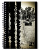 Window In Angkor Wat Spiral Notebook