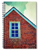 Window In Brick House Spiral Notebook