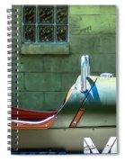 Window Into The Morgan 3 Wheeler Spiral Notebook