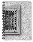 Window Of Little Light Spiral Notebook