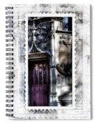 Window Of Renaissance Paris France Spiral Notebook