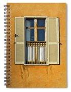 Window Of Rome II Spiral Notebook