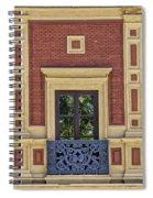 Window Of Seville Spiral Notebook